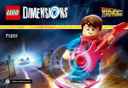 Lego Back to the Future™ Level Pack - 71201 (2015) - Starter Pack PLAYSTATION® 3 BI 3001/16 - 71201 V39
