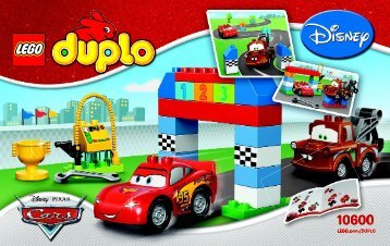 Lego Disney Pixar Cars™ Classic Race - 10600 (2015) - Disney Pixar Cars™ Classic Race BI 3004/12/65g 10600 V29
