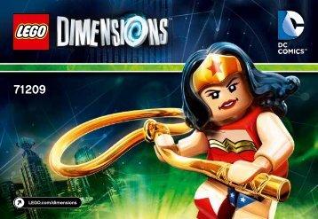 Lego Wonder Woman™ Fun Pack - 71209 (2015) - Jurassic World™ Team Pack BI 3001/12 - 71209 V39