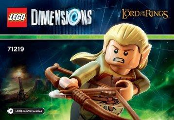 Lego Legolas™ Fun Pack - 71219 (2015) - Nya Fun Pack BI 3001/12 - 71219 V39