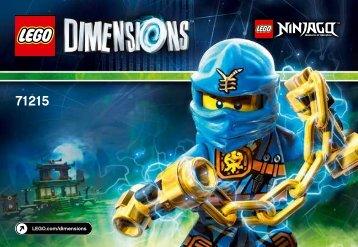 Lego Jay Fun Pack - 71215 (2015) - Jurassic World™ Team Pack BI 3001/12 - 71215 V39