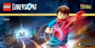 Lego Back to the Future™ Level Pack - 71201 (2015) - Starter Pack PLAYSTATION® 3 Hoverboard