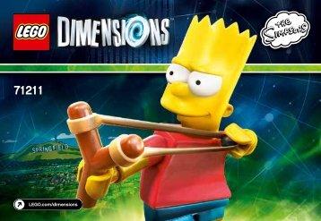 Lego Bart Fun Pack - 71211 (2015) - Jurassic World™ Team Pack BI 3001/12 - 71211 V110