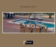 PDF Brochure Download - Oceans Outdoor Furniture Ltd