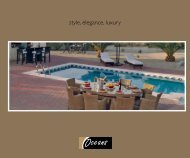 PDF Brochure Download - Oceans Outdoor Furniture Ltd