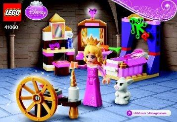 Lego Sleeping Beauty's Royal Bedroom - 41060 (2015) - Ariel's Amazing Treasures BI 3001/36-65G - 41060 V29