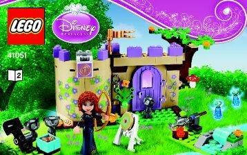 Lego Merida's Highland Games - 41051 (2014) - Ariel's Amazing Treasures BI 3003/36- 41051 V29 BOOK 2/2