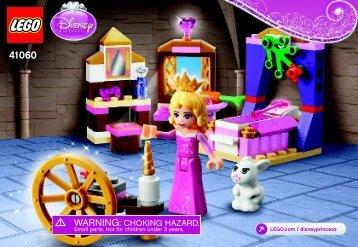 Lego Sleeping Beauty's Royal Bedroom - 41060 (2015) - Ariel's Amazing Treasures BI 3001/36-65G - 41060 V39