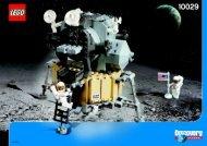Lego Lunar Lander - 10029 (2003) - Lunar Lander BI 10029 IN
