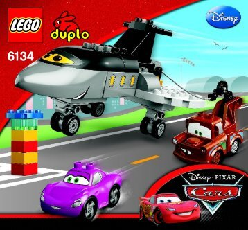 Lego Siddeley Saves the Day - 6134 (2012) - Disney Pixar Cars™ Classic Race BI 3005/12, 6134 V29