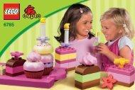 Lego Creative Cakes - 6785 (2012) - Make and Create Co-Pack BI 3002/ 8 - GLUED,6785 V29/V110