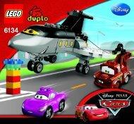 Lego Siddeley Saves the Day - 6134 (2012) - Disney Pixar Cars™ Classic Race BI 3005/12, 6134 V39