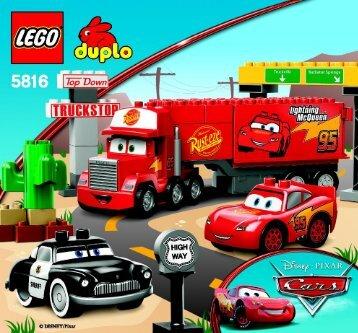 Lego Mack's Road Trip - 5816 (2010) - Disney Pixar Cars™ Classic Race BI 3005/12, 5816