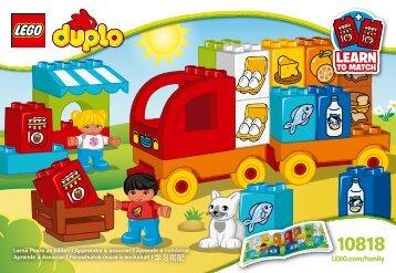 Lego My First Truck - 10818 (2016) - My First Bus BI 3010/8-65G, 10818 V29