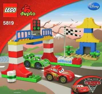 Lego Tokyo Racing - 5819 (2011) - Disney Pixar Cars™ Classic Race BI 3005/12 - 5819 V29/V39