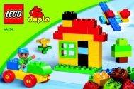 Lego Co-pack DUPLO Alltoys - 66384 (2010) - Make and Create Co-Pack BI 3002/ 8 - GLUED - 5506