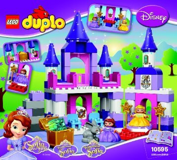 Lego Sofia the First Royal Castle - 10595 (2015) - Sofia the First Royal Stable BI 3017 / 24 - 65g 10595 V39