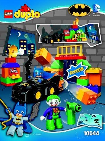 Lego The Joker Challenge - 10544 (2014) - The Joker Challenge BI 3022 / 20 - 10544 V29