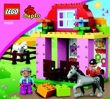Lego Horse Stable - 10500 (2013) - Horse Stable BI 3017 / 16 - 65g, 10500 V29/V110