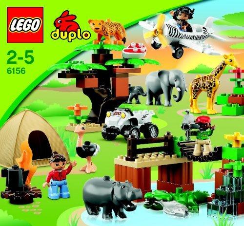 Lego Photo Safari - 6156 (2012) - Police Station BI 3005/16 GLUED, 6156 V29/V39