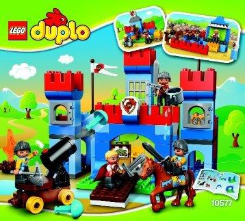 Lego Big Royal Castle - 10577 (2014) - My First Shop BI 3017 / 20 - 65g - 10577 V39