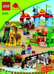 Lego Big City Zoo - 5635 (2009) - Supermarket BI 3006/12-GLUED-5635