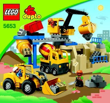 Lego Stone Quarry - 5653 (2010) - Supermarket BI 3005/12, 5653