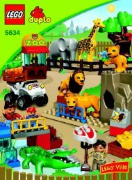 Lego Feeding Zoo - 5634 (2009) - Supermarket BI 3006/ 8-GLUED-5634