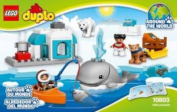 Lego Arctic - 10803 (2016) - Rally Car BI 3004, 24/65g GLUED, 10803 V39