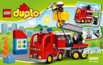 Lego Fire Truck - 10592 (2015) - Rally Car BI 3004/12/65g 10592 V39