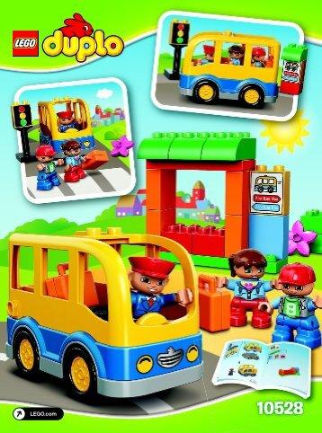 Lego School Bus - 10528 (2014) - Horse Stable BI 3022/12-65G - 10528 V39