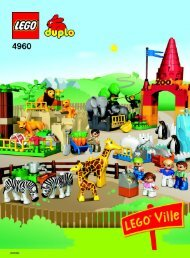 Lego Giant Zoo - 4960 (2006) - Jungle BI ART 4960