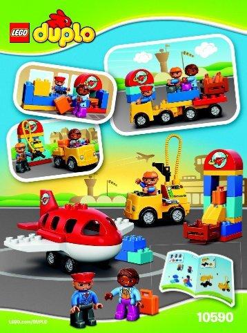 Lego Airport - 10590 (2015) - Rally Car BI 3022 / 16 10590 V29