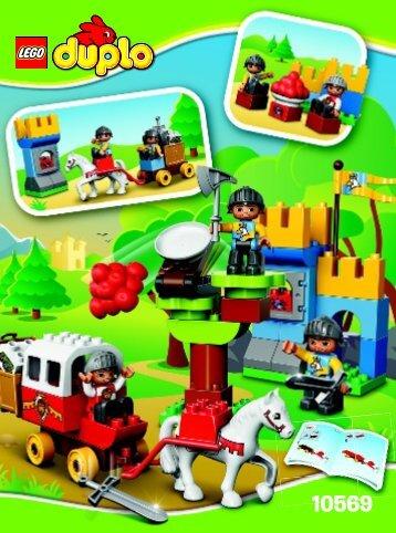 Lego Treasure Attack - 10569 (2014) - My First Shop BI 3022 / 20 - 10569 V39
