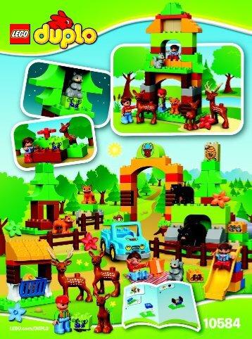 Lego Forest: Park - 10584 (2015) - My First Shop BI 3022/28/65g - 10584 V29
