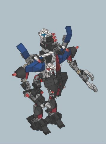 Lego Fire Vulture - 7703 (2006) - EXO-FORCE Co-Pack A 7702 + 7703 Combi model