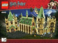 Lego Hogwarts Castle - 4842 (2010) - Harry And The Hungarian Horntail BI 3006/72+4 -4842 v.39 BOOK 2