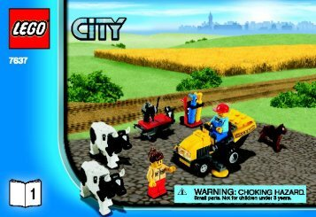 Lego Farm - 7637 (2009) - CITY Farm BI 3001/24 - 7637-V.39-1/3