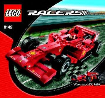 Lego Ferrari F1 1:24 - 8142 (2007) - Ferrari F1 1:24 BI, 8142 NA