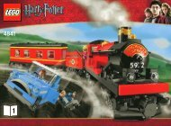 Lego Hogwarts Express - 4841 (2010) - Harry And The Hungarian Horntail BI 3006/60-4841 v.29 BOOK 1
