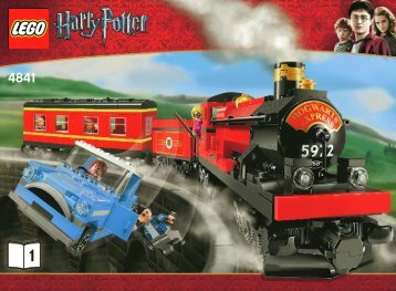 Lego Hogwarts Express - 4841 (2010) - Harry And The Hungarian Horntail BI 3006/60-4841 v.39 BOOK 1