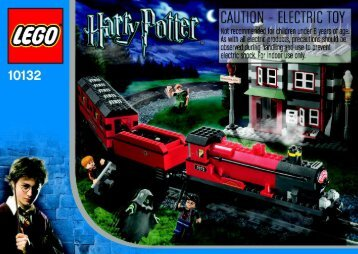 Lego Hogwarts Express Co-Pack - 65524 (2004) - Harry And The Hungarian Horntail BI, 10132 NA