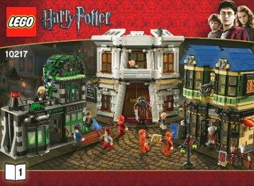 Lego Diagon Alley™ - 10217 (2011) - Motorized Hogwarts™ Express BI 3006/64 -10217 V.46/39 -1/3