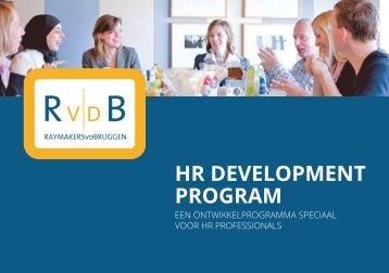 HR DEVELOPMENT PROGRAM