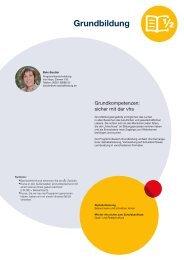 Webmagazin vhs Aschaffenburg Frühjahr 2016: Grundbildung