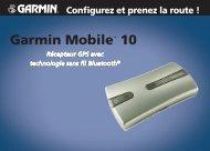Garmin Garmin Mobile 10 for laptops - Configurez et prenez la route