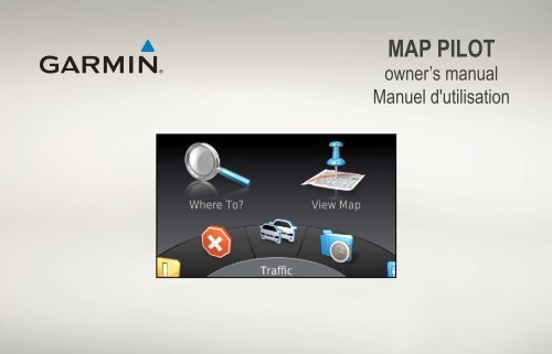 Garmin Garmin Map Pilot for Mercedes-Benz - Manuel d