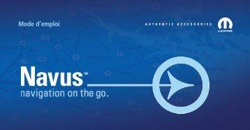 Garmin Navus GPS - Francais Manuel d utilisation
