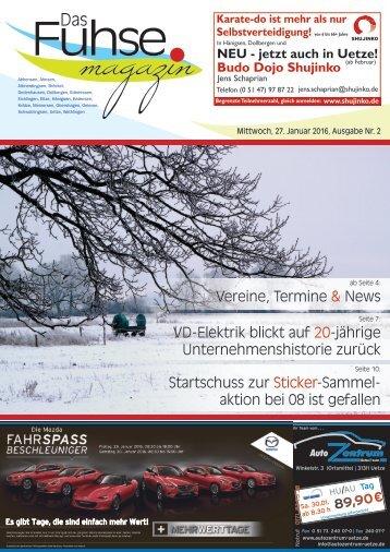 Fuhse-Magazin 2/2016