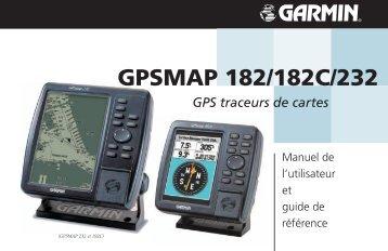 Garmin GPSMAP 232 - Manuel d'utilisation